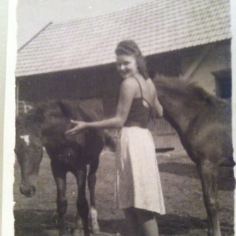Niccole's grandma Lottie in Poland