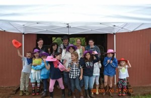 Bella's 10th birthday party at the Batesville  Road barn in Canton