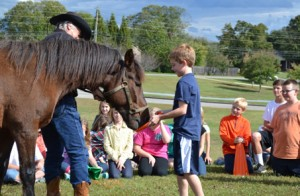 Wild Horse visits SAE Interact 2014